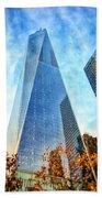 Freedom Tower Beach Towel