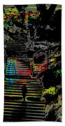 Freeway Park Steps Beach Towel