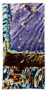 Freeway Park Waterfall Beach Towel