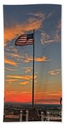 Freezeout Hill Memorial Beach Towel