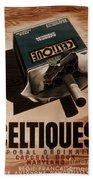 French Cigarette Ad, 1934 Beach Sheet