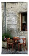 French Countryside Corner Beach Towel