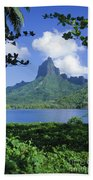 French Polynesia, Moorea Beach Towel