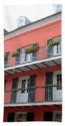 French Quarter 21 Beach Towel