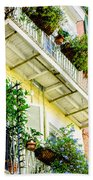 French Quarter Balconies - Nola Beach Towel