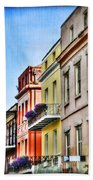French Quarter In Summer Beach Towel