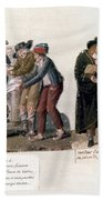 French Revolution, 1795-96 Beach Towel