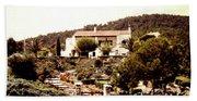 French Riviera 1955 Beach Towel
