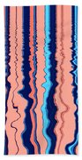 Frequency Beach Towel