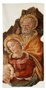 Fresco Holy Family Beach Towel