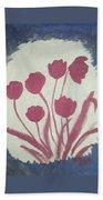 Fresh Flowers- 1st In Series-morning Shadow Beach Towel