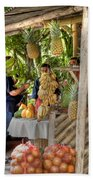 Fresh Fruits For The Day Beach Towel