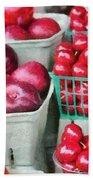 Fresh Market Fruit Beach Sheet