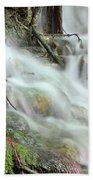 Fresh Spring Water Nature Detail Beach Towel
