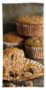 Freshly Baked Muffins Beach Sheet