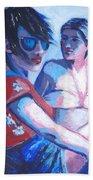 Friends - Girls On Holiday Beach Towel