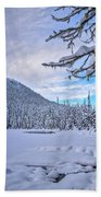 Frigid Beauty Beach Towel