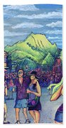 Frisco Bbq Festival 2017 Beach Towel