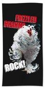 Frizzled Brahma T-shirt Print Beach Sheet