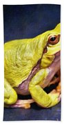 Frog - Id 16236-105000-7516 Beach Towel