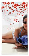 From Heaven Beach Towel