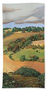 From Solsbury Hill Beach Towel by Anna Teasdale