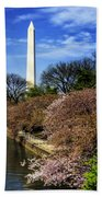 From The Basin To The Monument Beach Towel