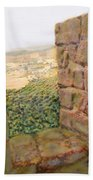 From The Castle Walls Beach Towel