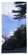 From The Cliff Of Lands' End 04 Beach Towel