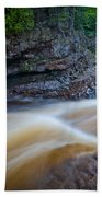From The Top Of Temperence River Gorge Beach Towel