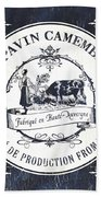 Fromage Label 1 Beach Towel by Debbie DeWitt