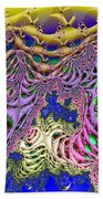 Fronds And Bladders In Lavendar Beach Towel