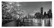 Front Row Roosevelt Island Beach Towel
