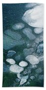 Frosted Bubbles Beach Towel