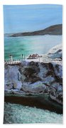 Frosty Fort Amherst Beach Towel