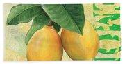 Froyo Lemon Beach Sheet