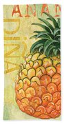 Froyo Pineapple Beach Towel