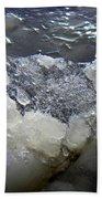 Frozen Blue 3 Beach Towel