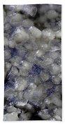 Frozen Blue Beach Towel