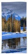 Frozen Jasper Paradise Beach Towel