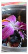 Fruit And Flowers Beach Towel
