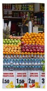 Fruit Just Stand Beach Towel