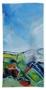 Fruitgum Landscape Beach Towel