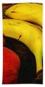 Frutta Rustica Beach Towel