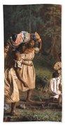 Fugitive Slaves, 1867 Beach Towel