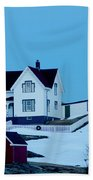 Full Moon Nubble Beach Towel