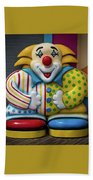 Fun House Clown Point Pleasant Nj Boardwalk Beach Towel