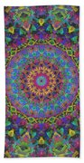 Fun With Color Beach Towel