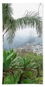 Funchal Maderia Beach Towel