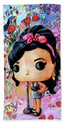 Funko Amy Winehouse Beach Towel by Miki De Goodaboom